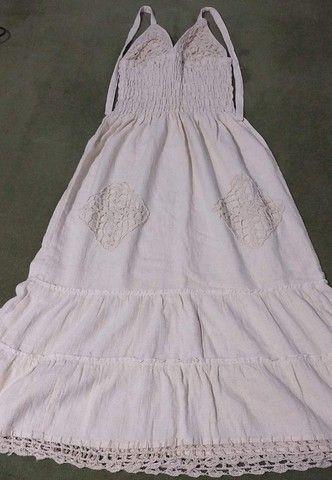 Vestido Novo Comprado em Fortaleza Bordado - Foto 2