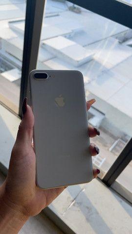 iPhone 8 Plus 256GB branco ( somos loja)