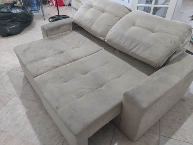 Sofá SUJO ??? Limpeza de sofá !!! - Foto 3