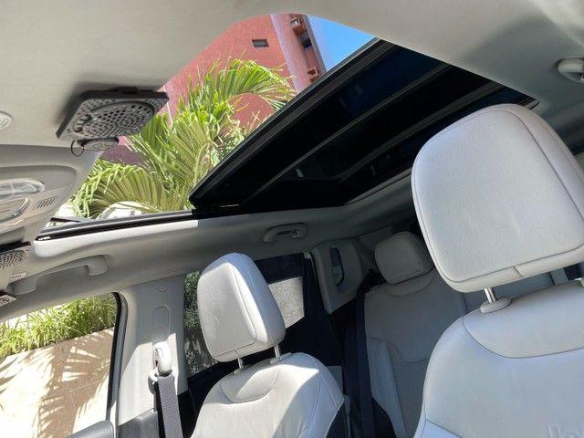 Jeep Compass Longitude Diesel 4x4 Teto Solar botão start/stop 20/20 - Foto 7
