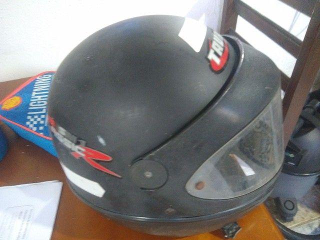 Capacete e cadeira e bike 1800 capacete moto 100 cadeira 150 - Foto 5