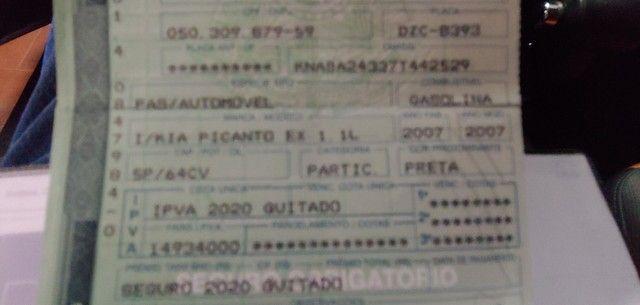 Kia Pucanto EX 1.0 - automático - Foto 3