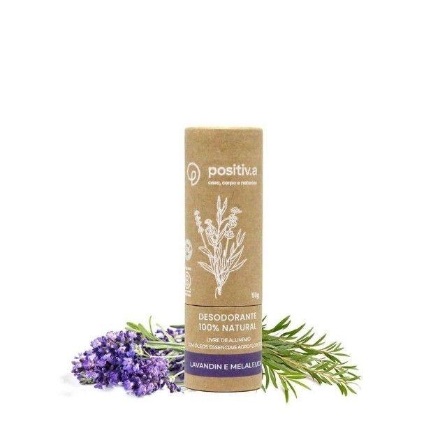 Desodorante 100% Natural Ecológico e Vegano Unissex