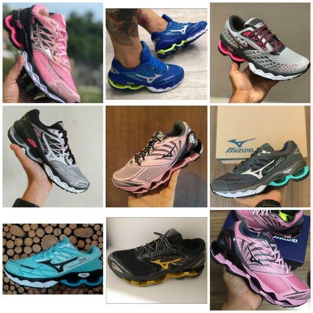 Vendo tênis Mizuno wave creation e adidas ( 120 com entrega) - Foto 2
