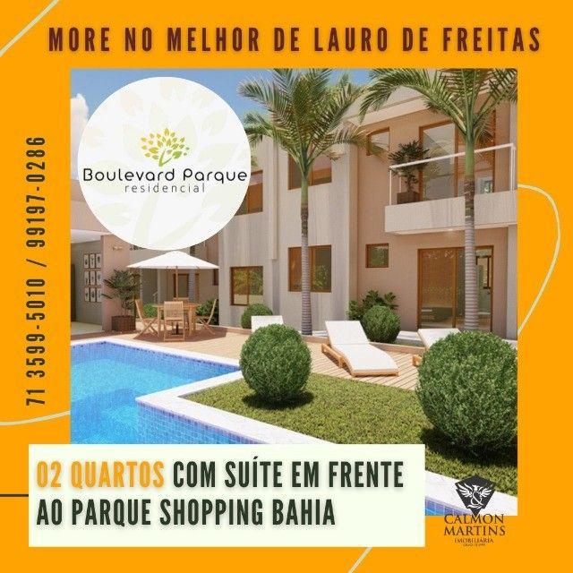 Apartamento com 2 quartos + suíte - Boulevard Parque Residencial