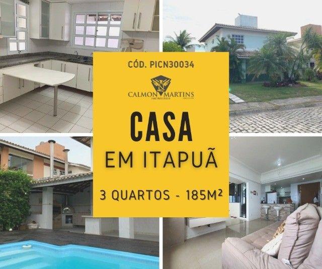Casa 500m² em Condomínio 3 Quartos, Cond. Quatro Rodas - Itapuã
