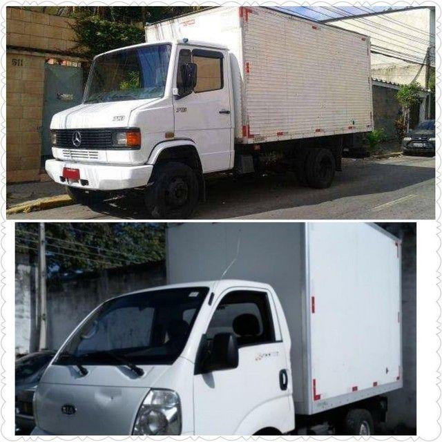 Caminhão para mudança