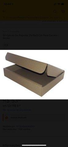 90 Caixas De Papelão 21x15x3 Cm Para Correio / Sedex