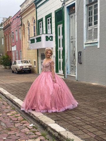 Coleção 2021 de vestido de debutante - 15 anos  - Foto 4