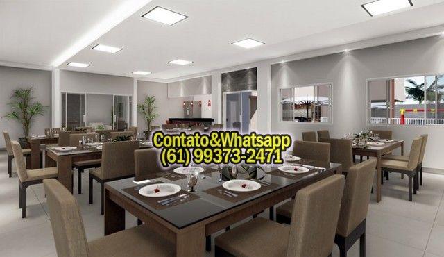 Apartamento em Goiania, 2Q (1Suíte), 55m2, Garagem, Lazer Completo! Parcela. - Foto 7