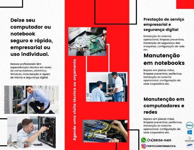 Manutenção em notebooks e computadores - Foto 2