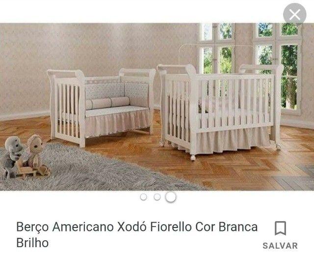 lindo Berço americano xodó branco (usado) - Foto 2