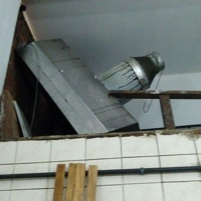 Expositor, Refrigerador, Pia, Coifa, dutos, tudo INOX  - Foto 5