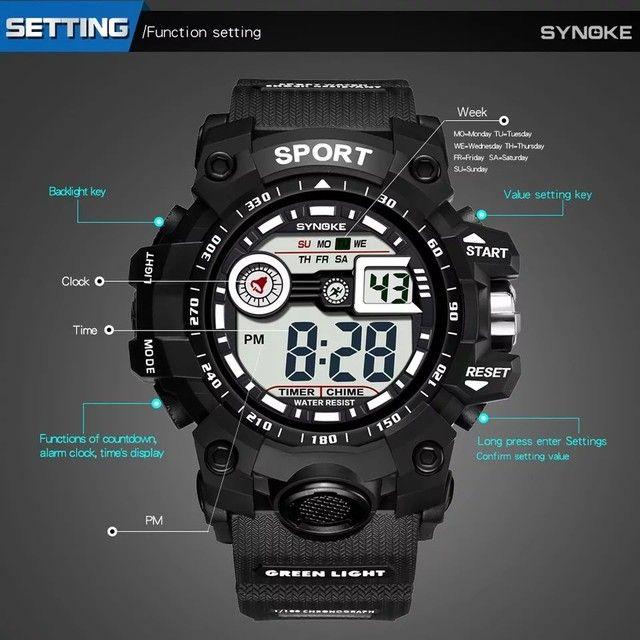 Relógio Digital Synoke Sport - Foto 4