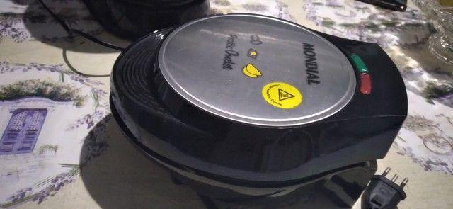 Omeleteira Elétrica Mondial , pouco usada.  - Foto 2