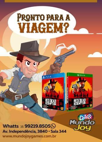 Red Dead Redemption 2 - Playstation 4 - Aqui na Mundo Joy Games