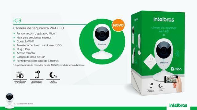 Câmera Intelbras Mibo Wi-Fi