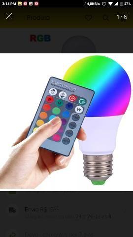 Lampada led 5w 16 cores