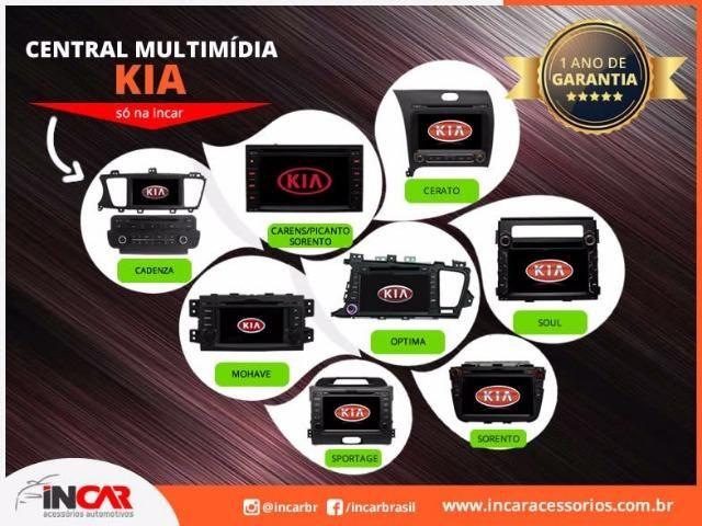 Central Multimídia Linha Kia: Cerato, Sportage e etc.