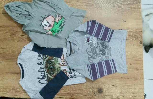 Combo de roupas menino 2/3 anos