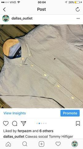 Camisa Tommy Hilfiger - Importada U.S.A