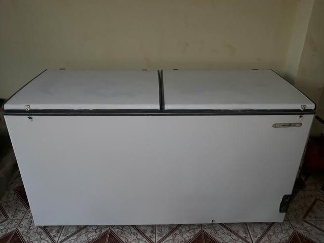 Vendo esse freezer muito conservado funcionandoperfeitamente gelando