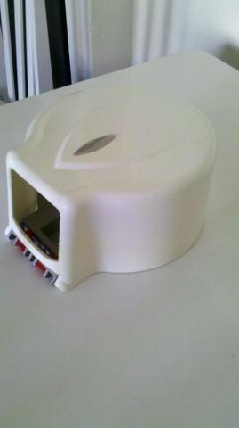 Dispenser de papel higiênico rolo