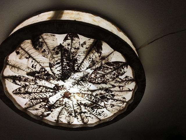 Luminari de Parede de Artista Pastico de Tiradentes