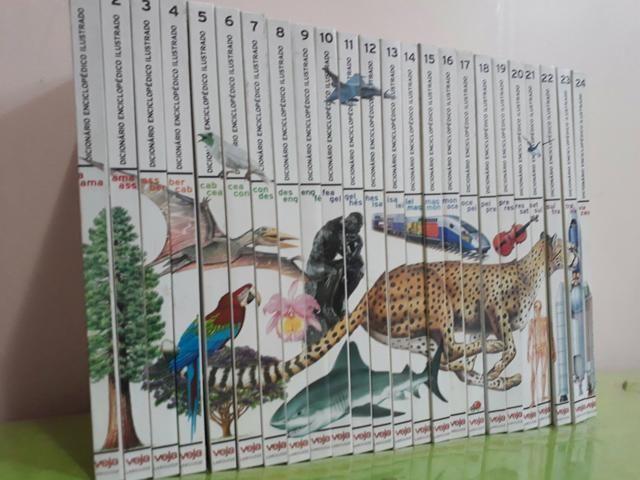 Enciclopédia ilustrada- coleção veja