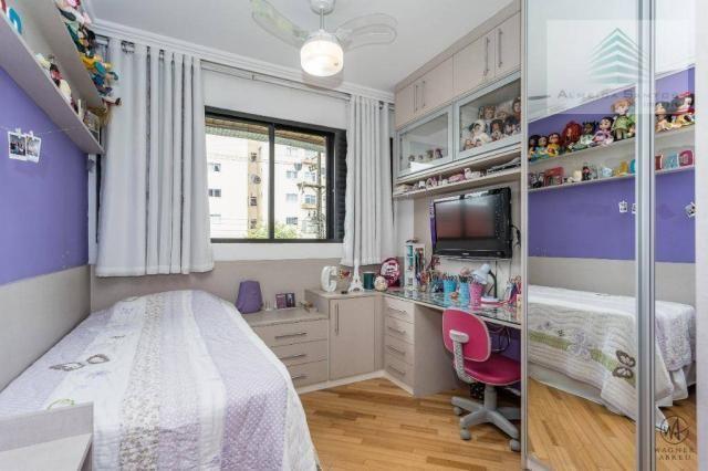 Apartamento com 3 dormitórios à venda, 129 m² por r$ 800.000 - batel - curitiba/pr - Foto 16