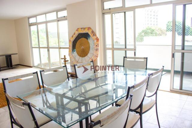 Apartamento com 3 dormitórios para alugar, 270 m², 03 vagas de garagens, ED. NOTRE DAME, p - Foto 5