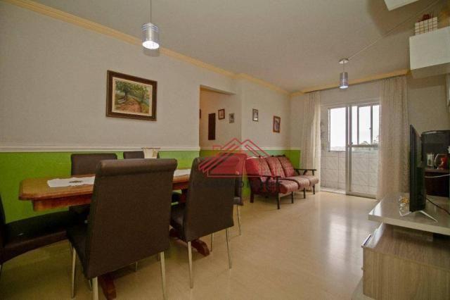 Apartamento com 3 dormitórios à venda, 69 m² por r$ 270.000,00 - santa quitéria - curitiba - Foto 3
