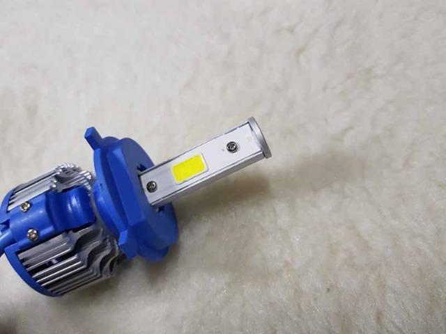 Lampada LED Farol H4 4100LM de potencia 36W com Cooler (Uma Unidade/Moto) - Foto 16