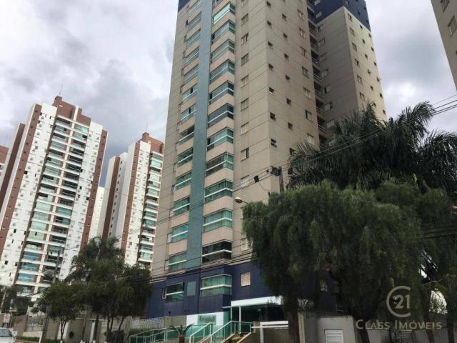 Apartamento com 3 dormitórios à venda, 83 m² por r$ 398.000,00 - gleba palhano - londrina/
