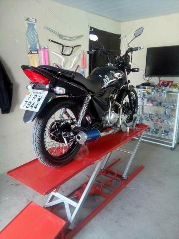 Elevador para motos 350 kg - Fabrica 24h zap