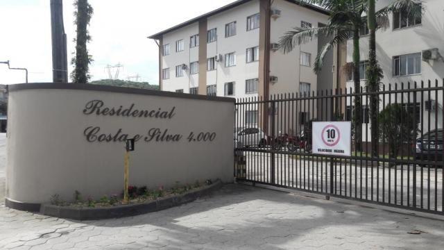 Apartamento à venda com 3 dormitórios em Costa e silva, Joinville cod:V17956 - Foto 2