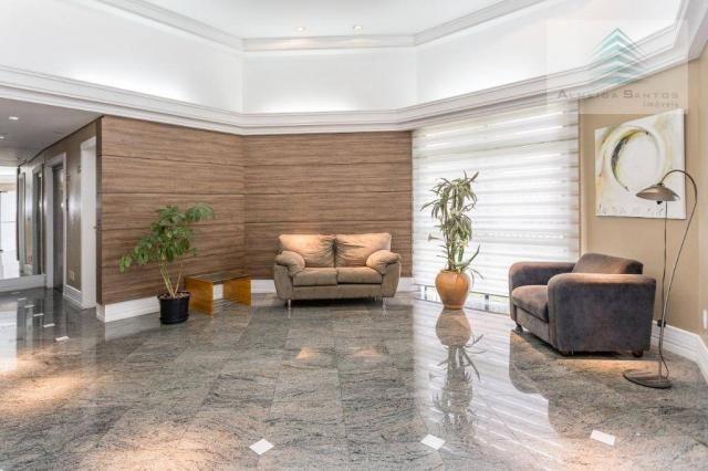 Apartamento com 3 dormitórios à venda, 129 m² por r$ 800.000 - batel - curitiba/pr - Foto 20