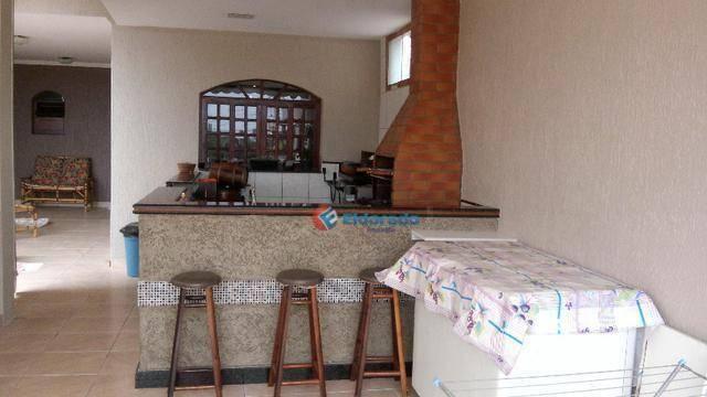 Sobrado com 4 dormitórios à venda, 350 m² por r$ 710.000,00 - jardim santa clara do lago i - Foto 4