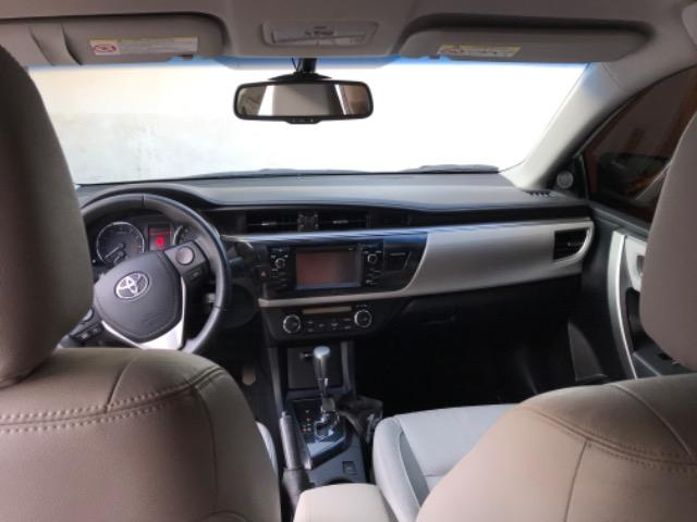 Corolla XEI 2015 branco perolizado. Carro extra com 65 mil km! - Foto 4