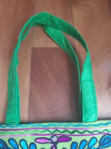 Bolsa tecido estruturada - Foto 5