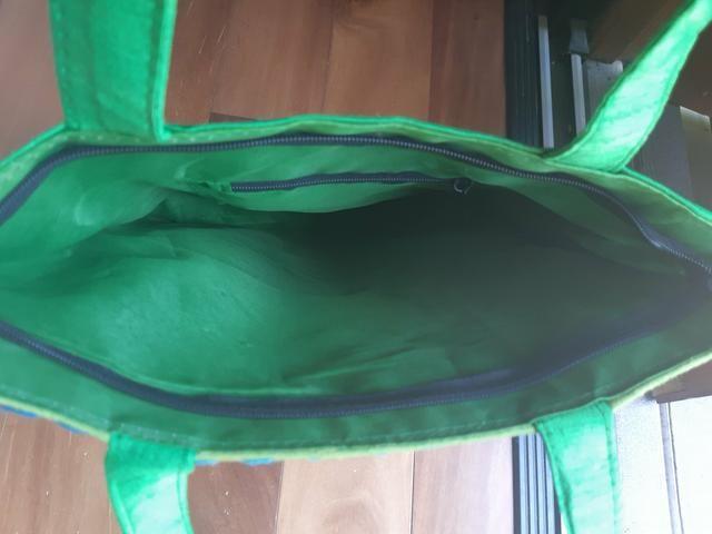 Bolsa tecido estruturada - Foto 3