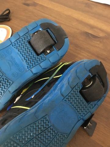 Tênis com rodinhas ortopé n 35