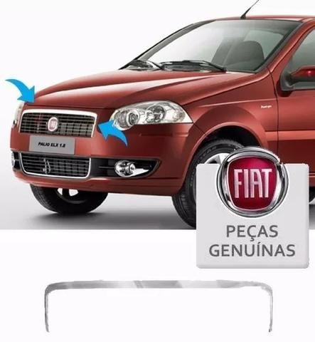 eaa58c89e Friso Cromado Grade Superior Palio Siena Elx 2008 À 2012 - Peças e ...
