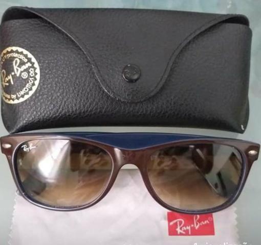 Óculos Rayban New Wayfarer - Bijouterias, relógios e acessórios ... f5a6463e7a
