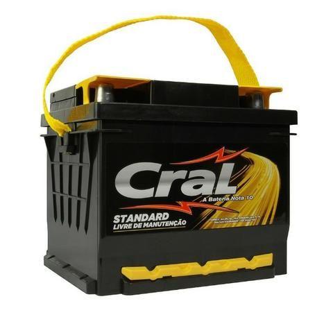 Bateria de 60 Amperes - Cral Selada Nova 180,00. Entregamos e Instalamos