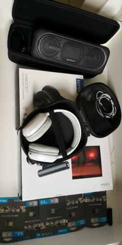 Caixa de Som Sony XB-40 Bluetooth Portátil + Case