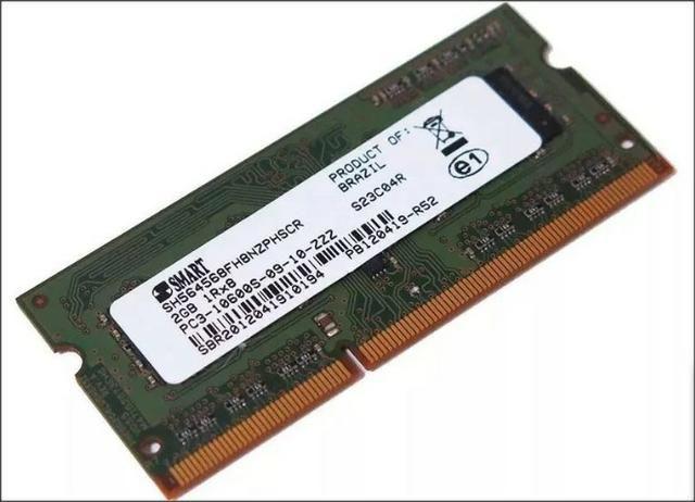 Memória 2 memórias ddr3 2GB notebook