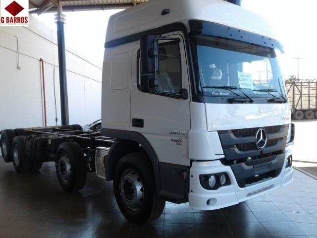 MB Atego 3030 8x2 Aut + Tanque de Combustível 2019