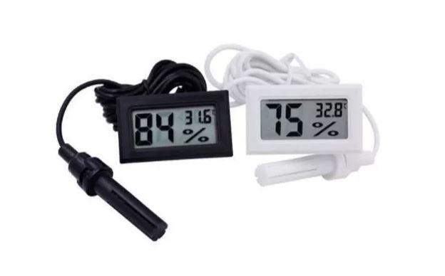 COD-AP4 Termômetro Com Higrômetro Digital E Sonda Externa Arduino Automação Robotica - Foto 3