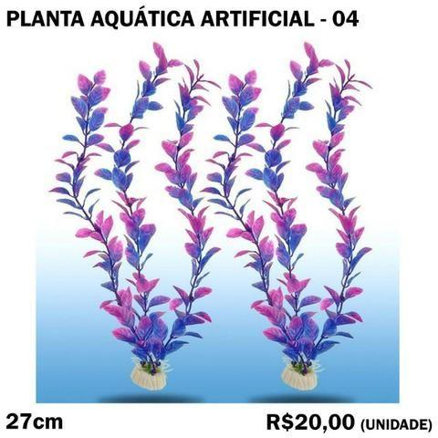 Planta Aquática Artificial 04 para Aquário